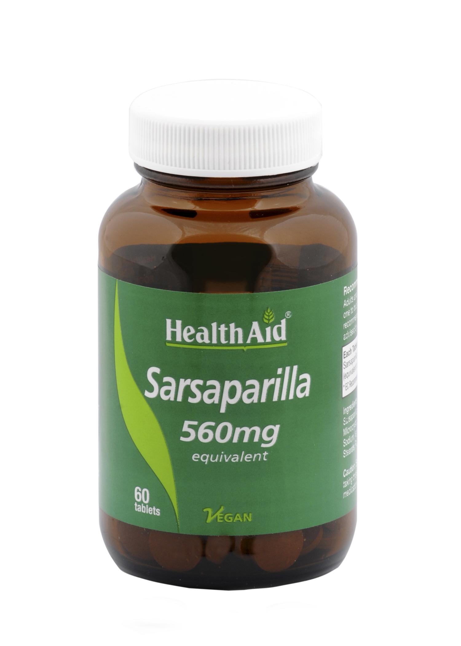 Sarsaparilla 560mg 60's
