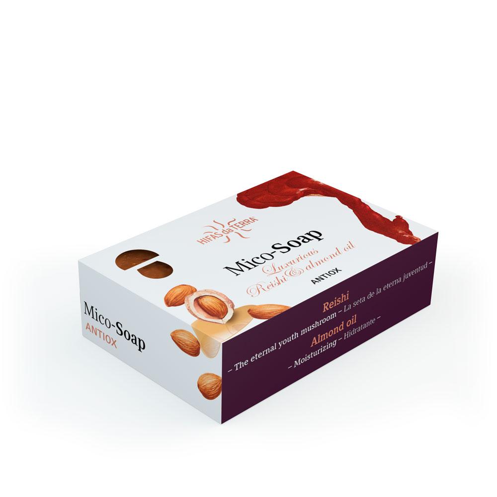 Mico-Soap: Luxurious Reishi & Almond Oil 150g