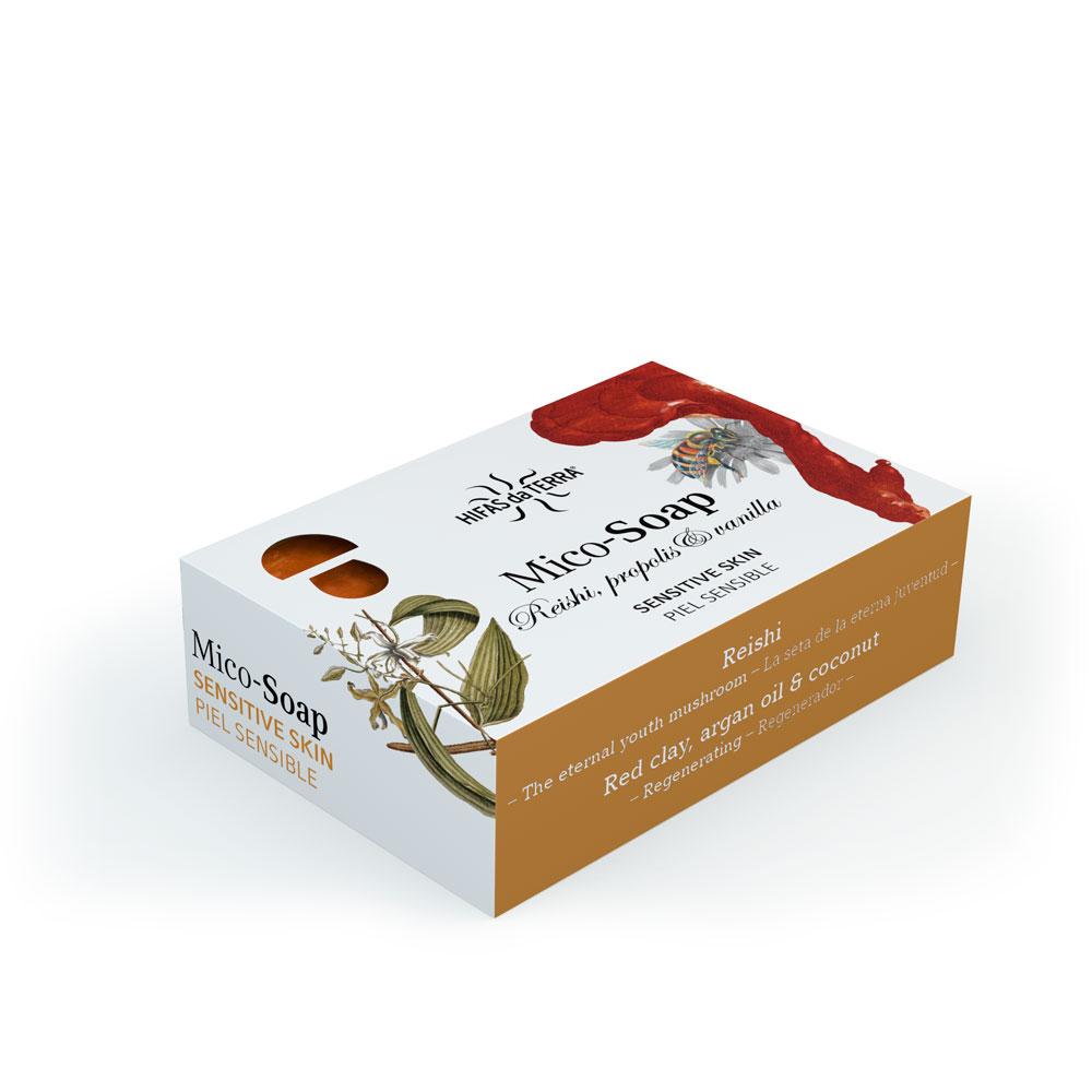 Mico-Soap: Reishi, Propolis & Vanilla 150g