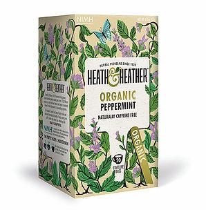 Organic Peppermint Tea 20's