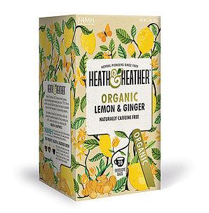 Organic Lemon and Ginger Tea 20's