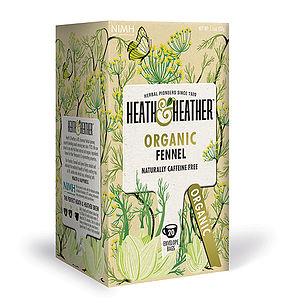 Organic Fennel Tea 20's