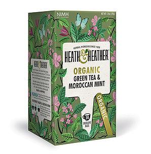 Organic Green Tea With Moroccan Mint 20's
