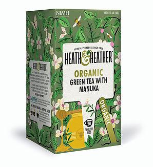 Organic Green Tea with Manuka 20's
