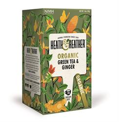 Organic Green Tea & Ginger 20's