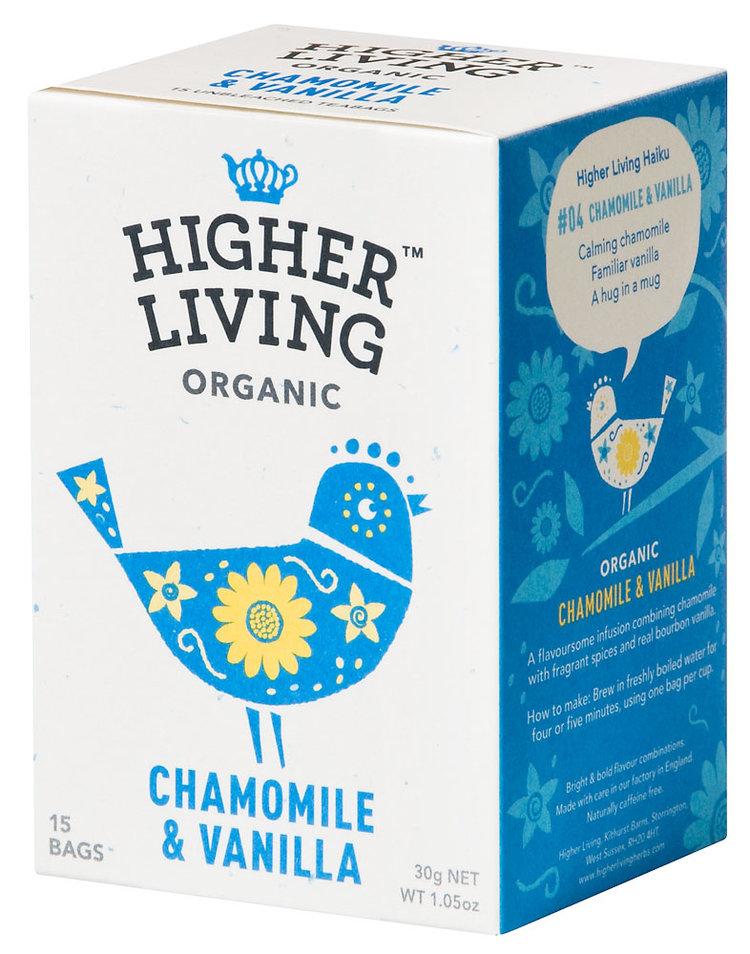 Chamomile & Vanilla 15 Teabags