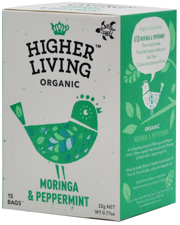 Moringa & Peppermint 15 Teabags