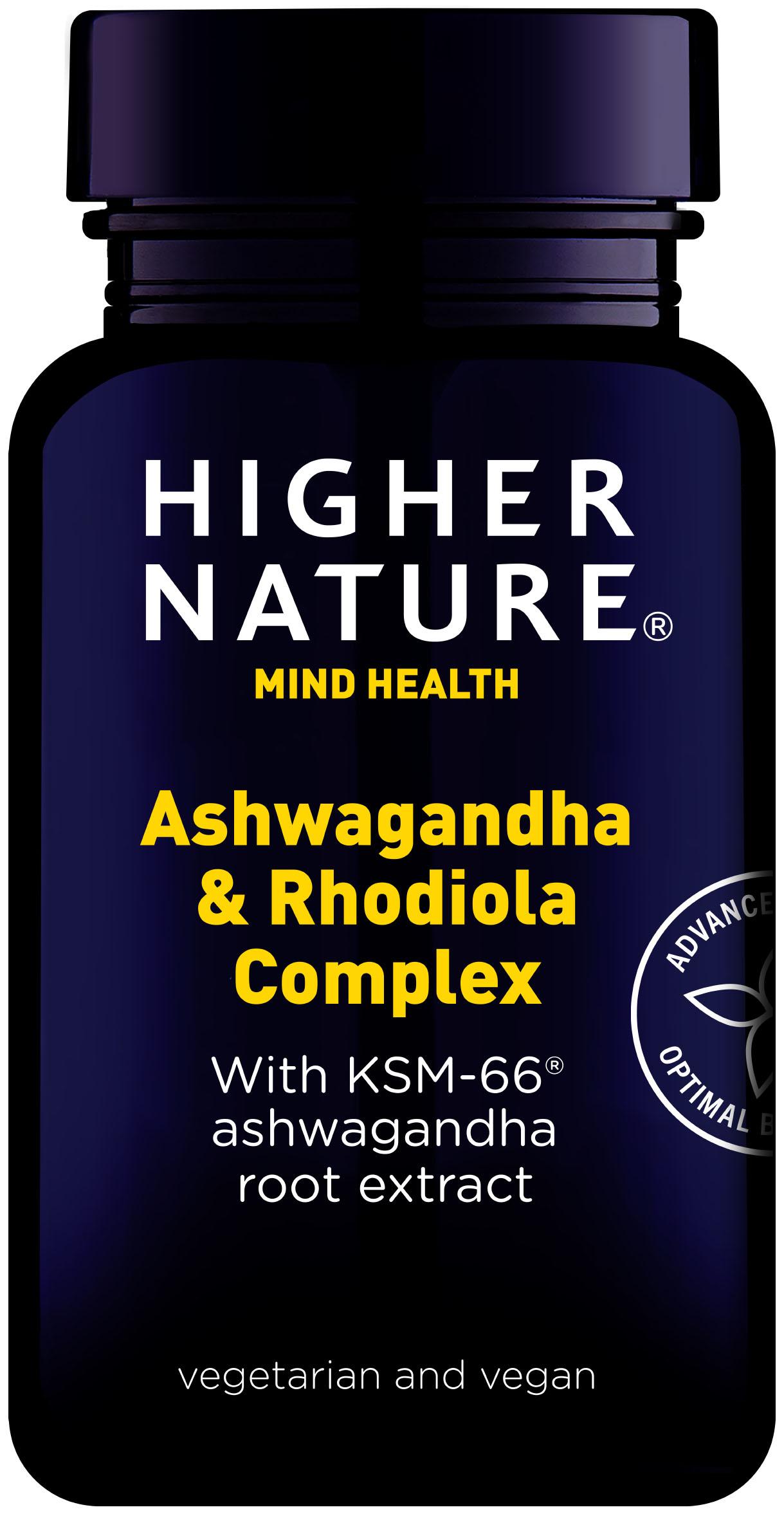 Ashwaganda & Rhodiola Complex 30's