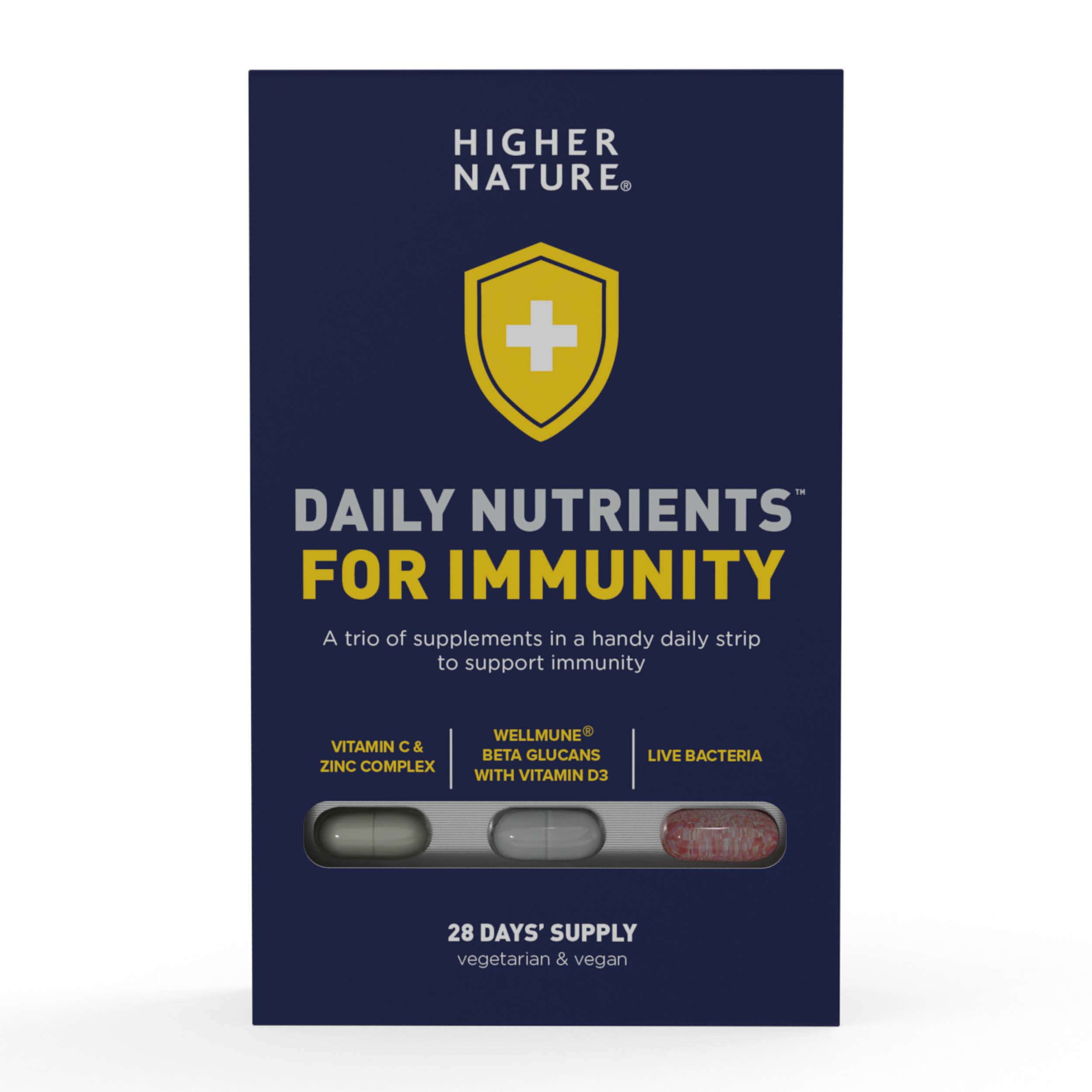 Daily Nutrients For Immunity 28 Days Supply