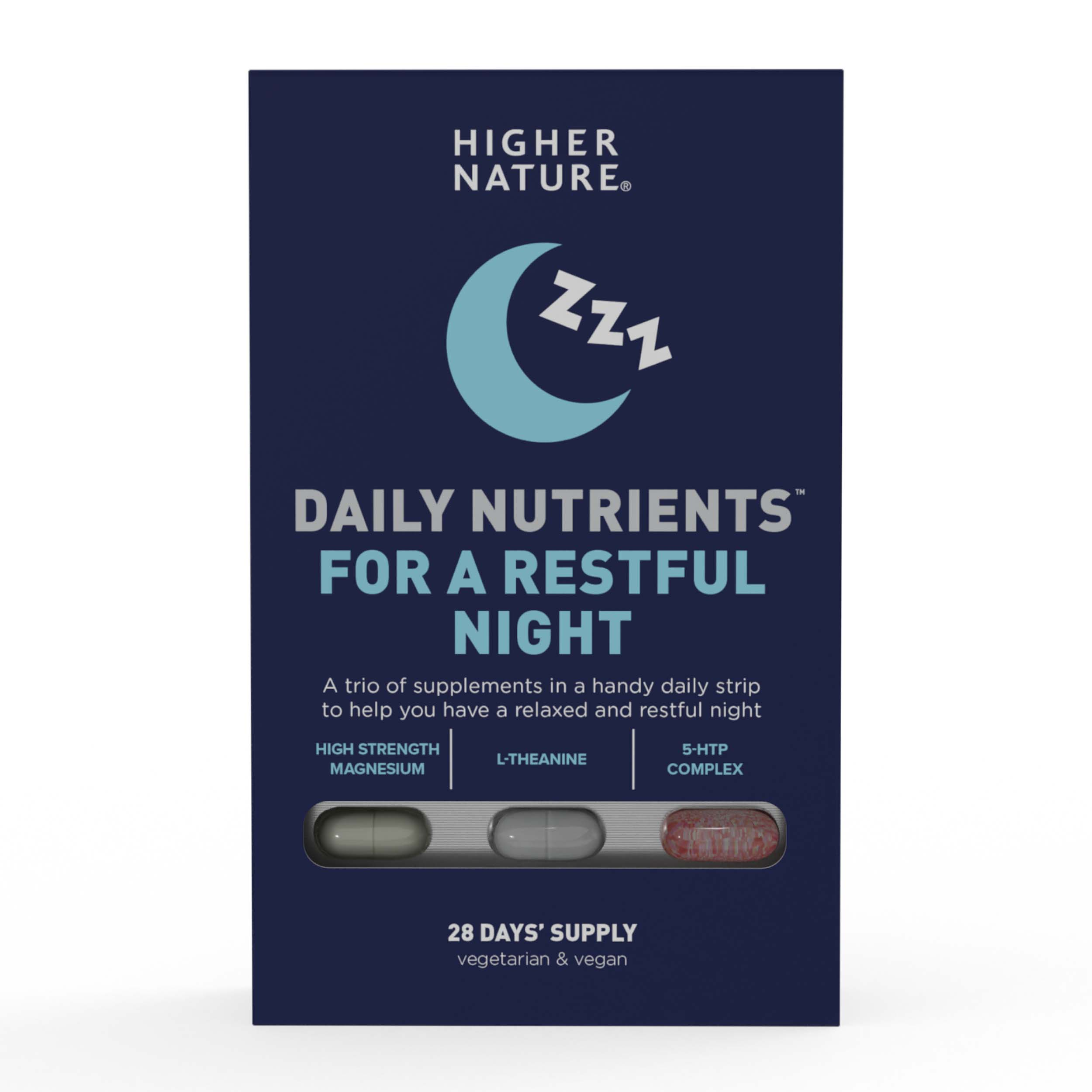Daily Nutrients For A Restful Night 28 Days Supply