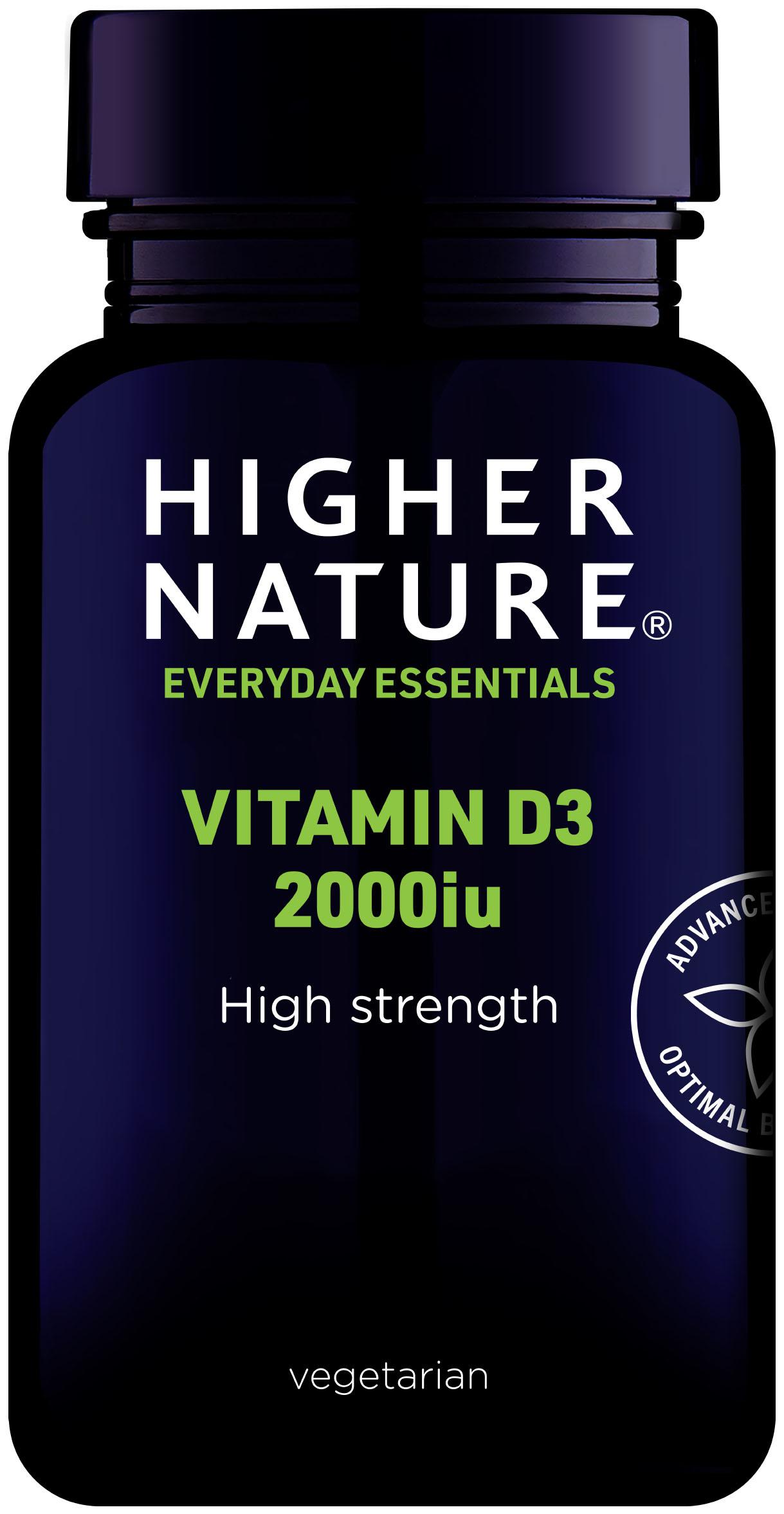 Vitamin D3 2000iu (High Strength) 120's