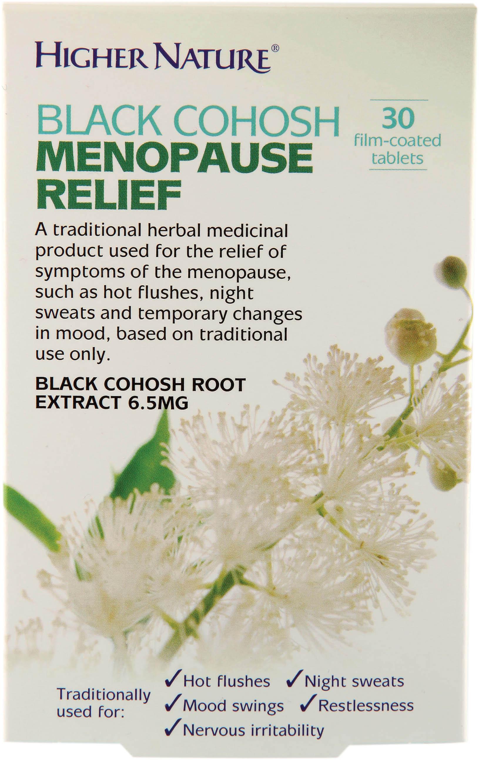 Black Cohosh Menopause Relief 30's