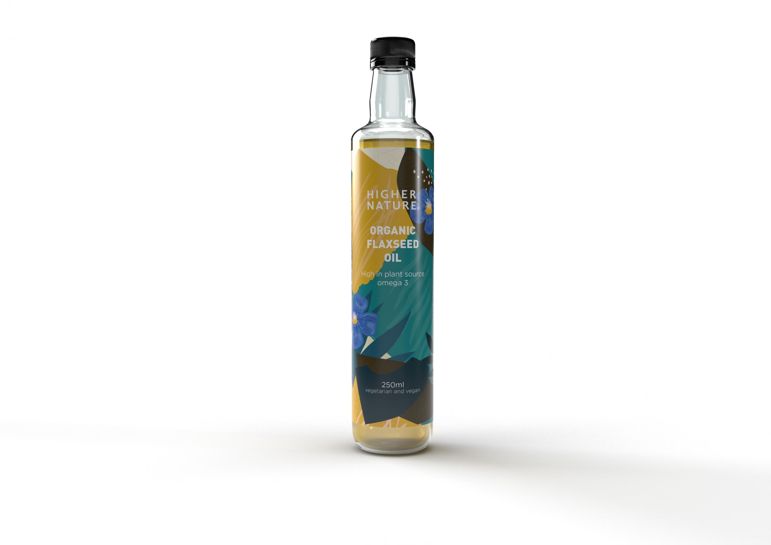 Organic Flaxseed Oil 250ml
