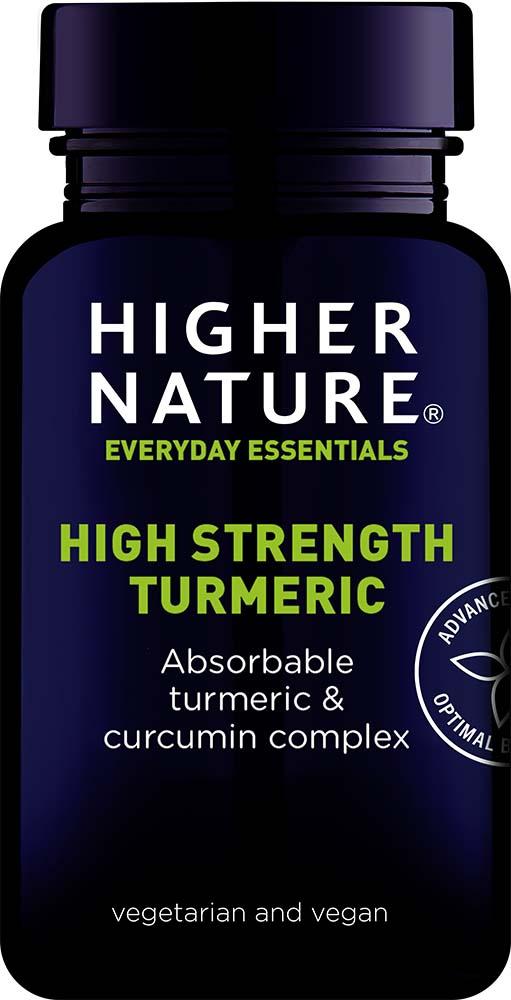 High Strength Turmeric 60's
