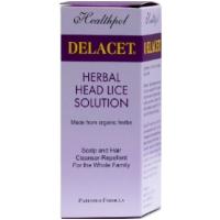 Delacet Herbal Head Lice Solution 100ml