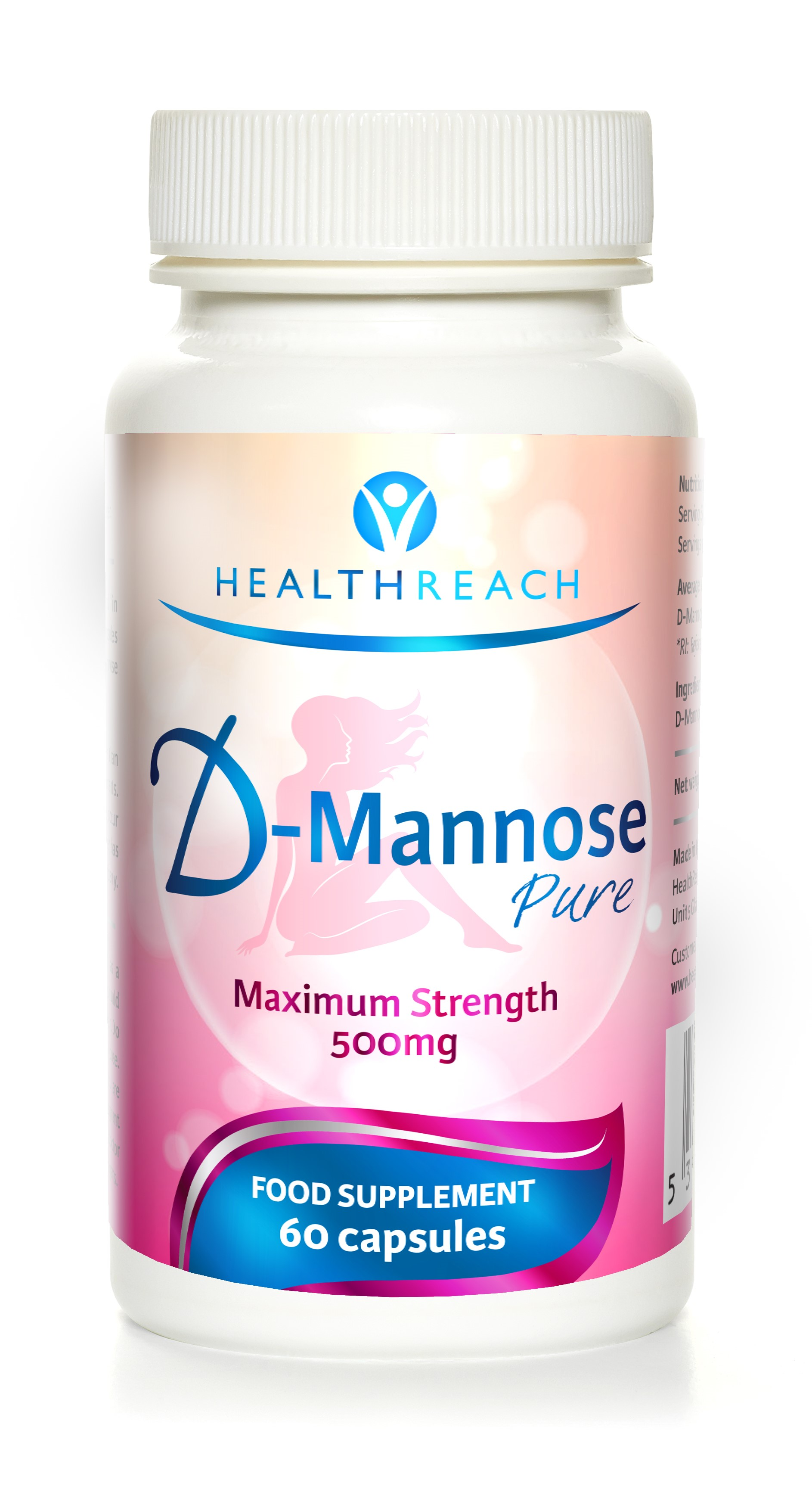 D-Mannose Pure 500mg 60's