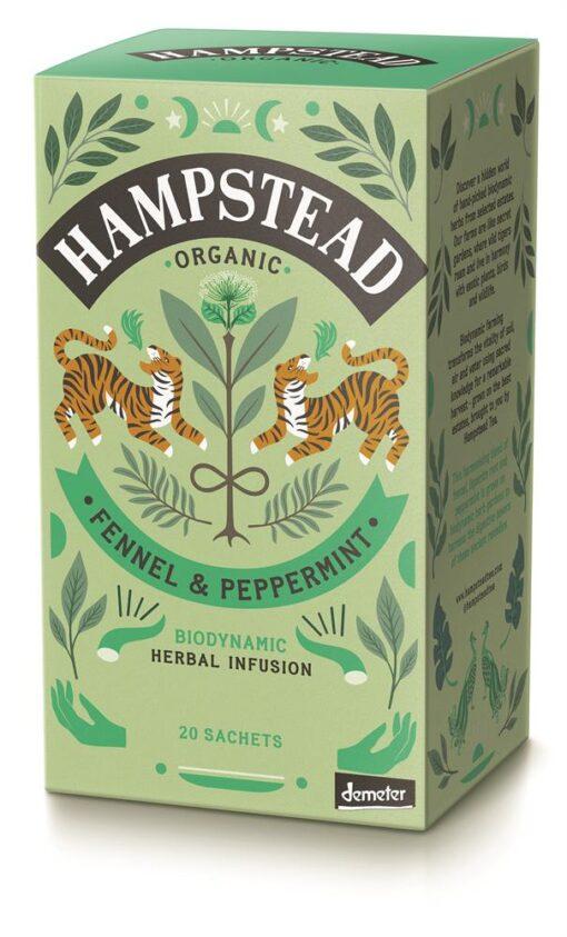 Organic Fennel & Peppermint Tea 20's