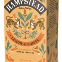 Organic Lemon & Ginger Tea 20's