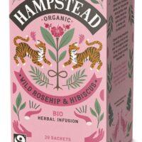 Organic Wild Rosehip & Hibiscus Tea 20's