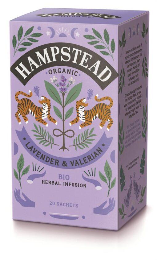 Organic Lavender & Valerian Tea 20's