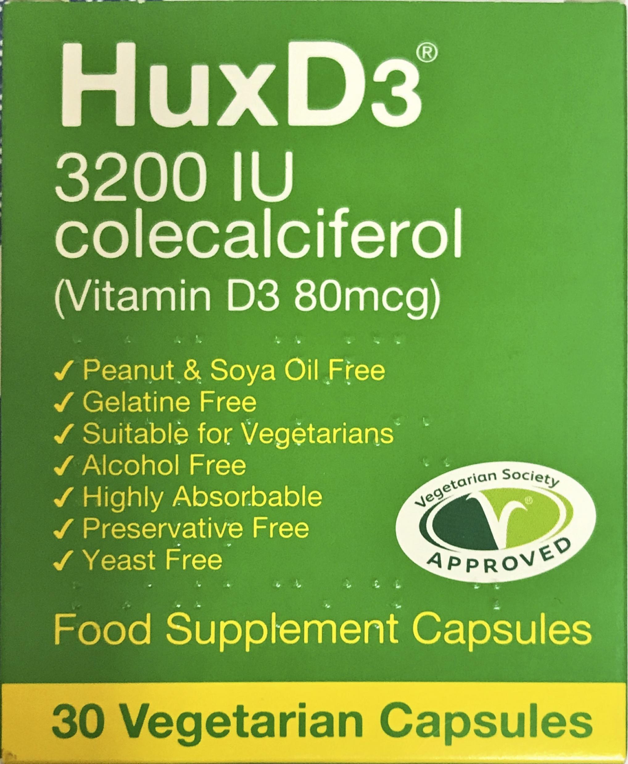 HuxD3 3200 IU 30's
