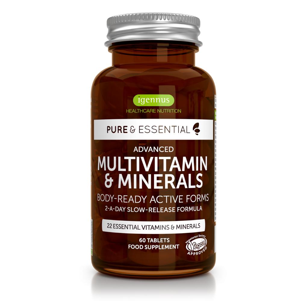 Pure & Essential Multivitamin & Minerals 60's