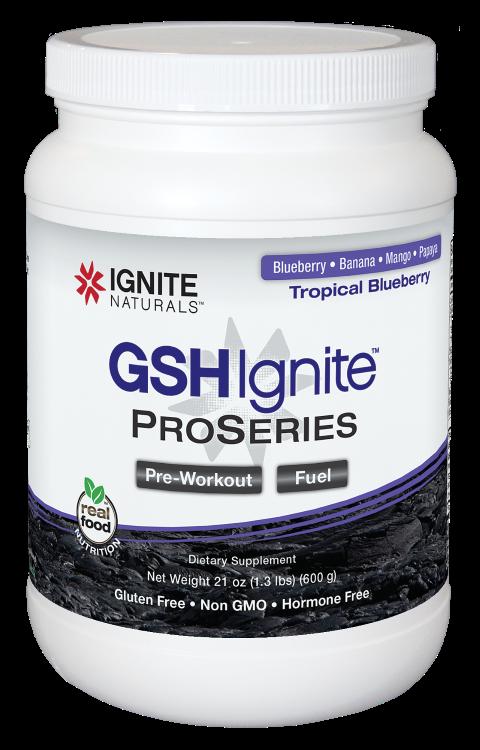 GSH Ignite ProSeries Tropical Blueberry 600g