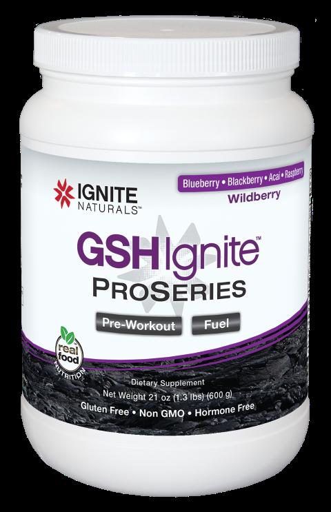GSH Ignite ProSeries Wildberry 600g