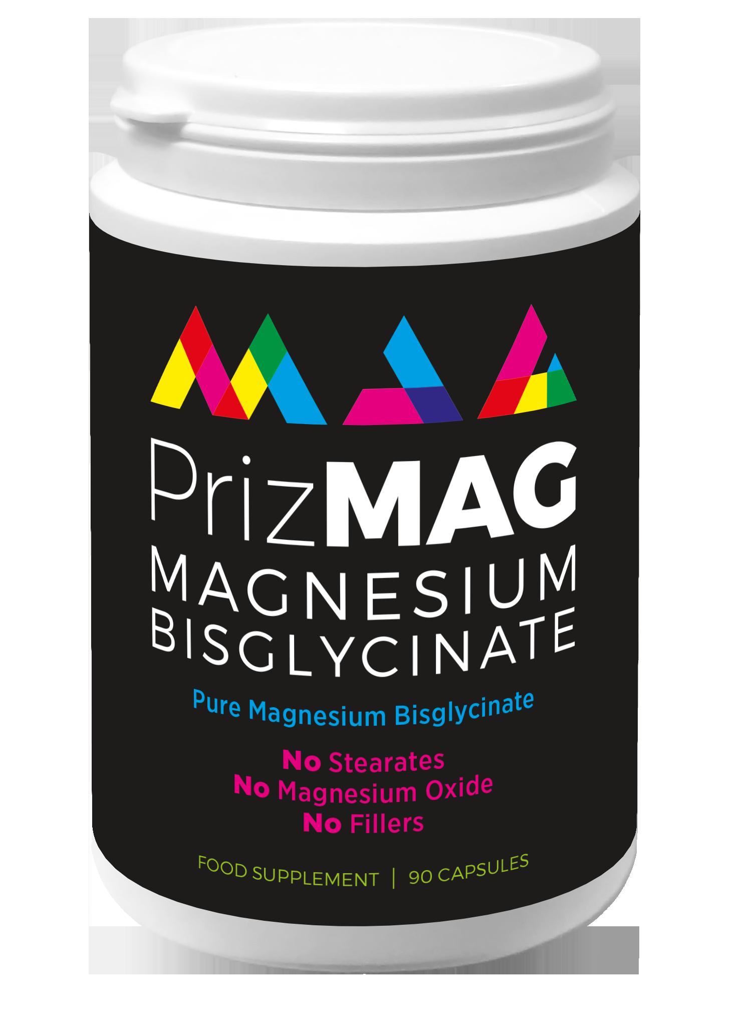 PrizMAG Magnesium Bisglycinate 90's