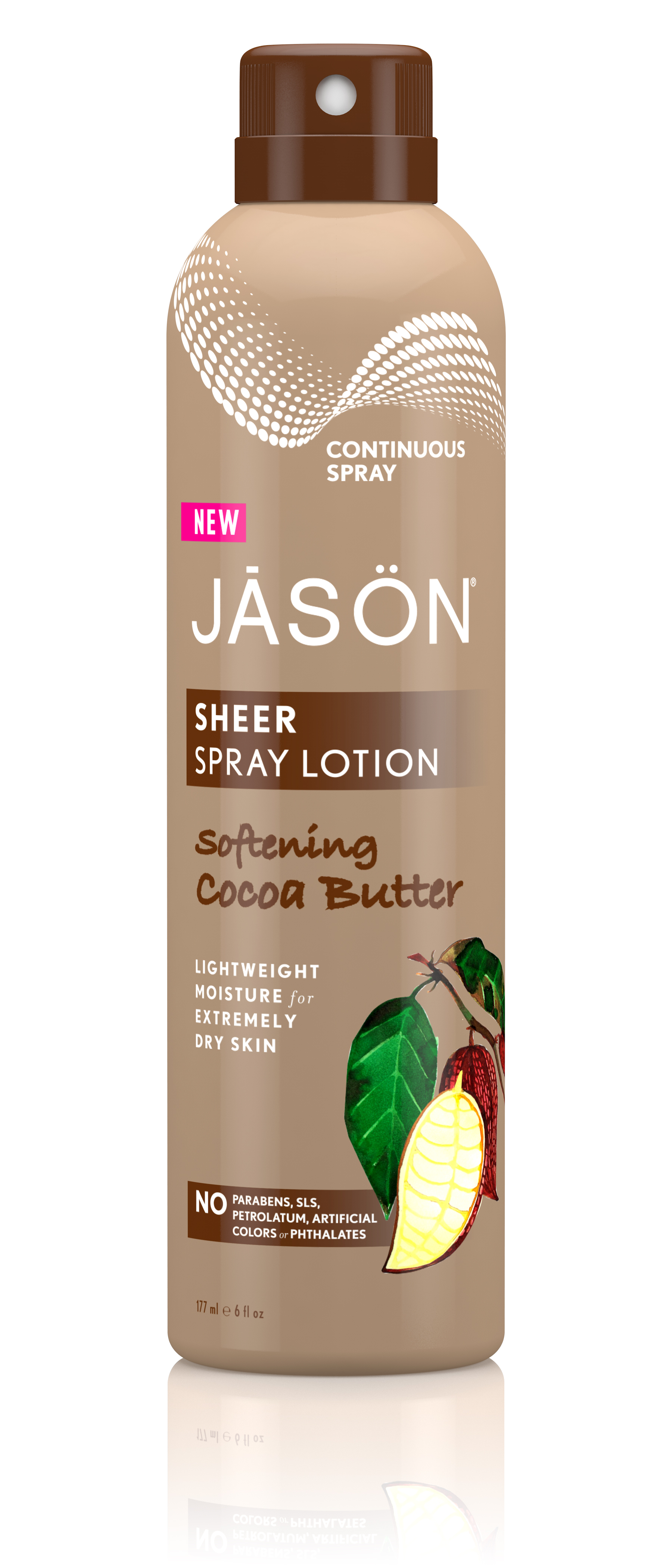 Sheer Spray Lotion Softening Cocoa Butter 177ml