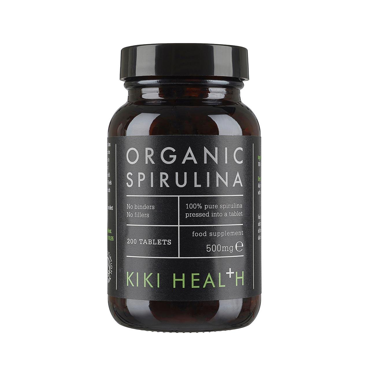 Organic Spirulina 500mg 200's