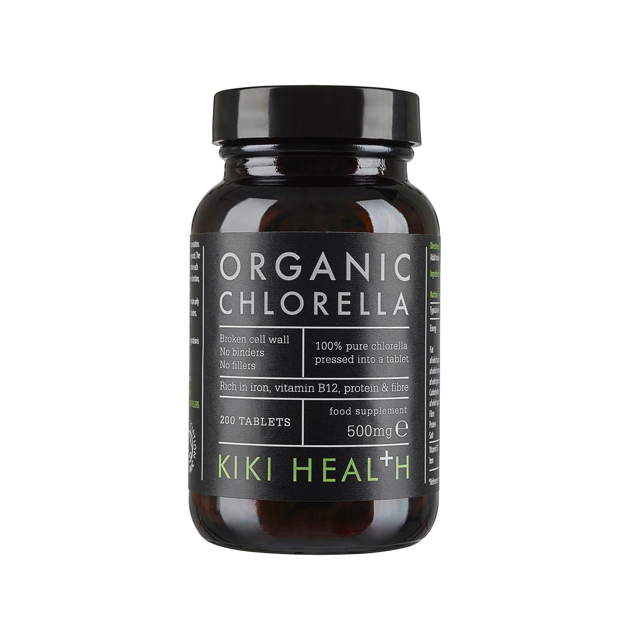 Organic Chlorella 200's