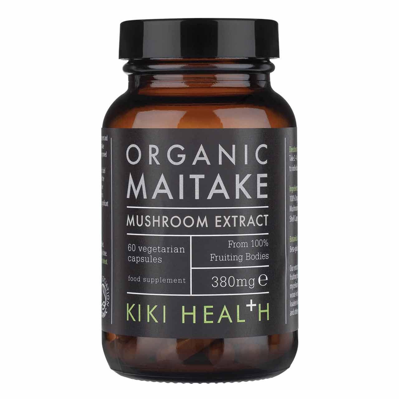 Organic Maitake Mushroom Extract 60's