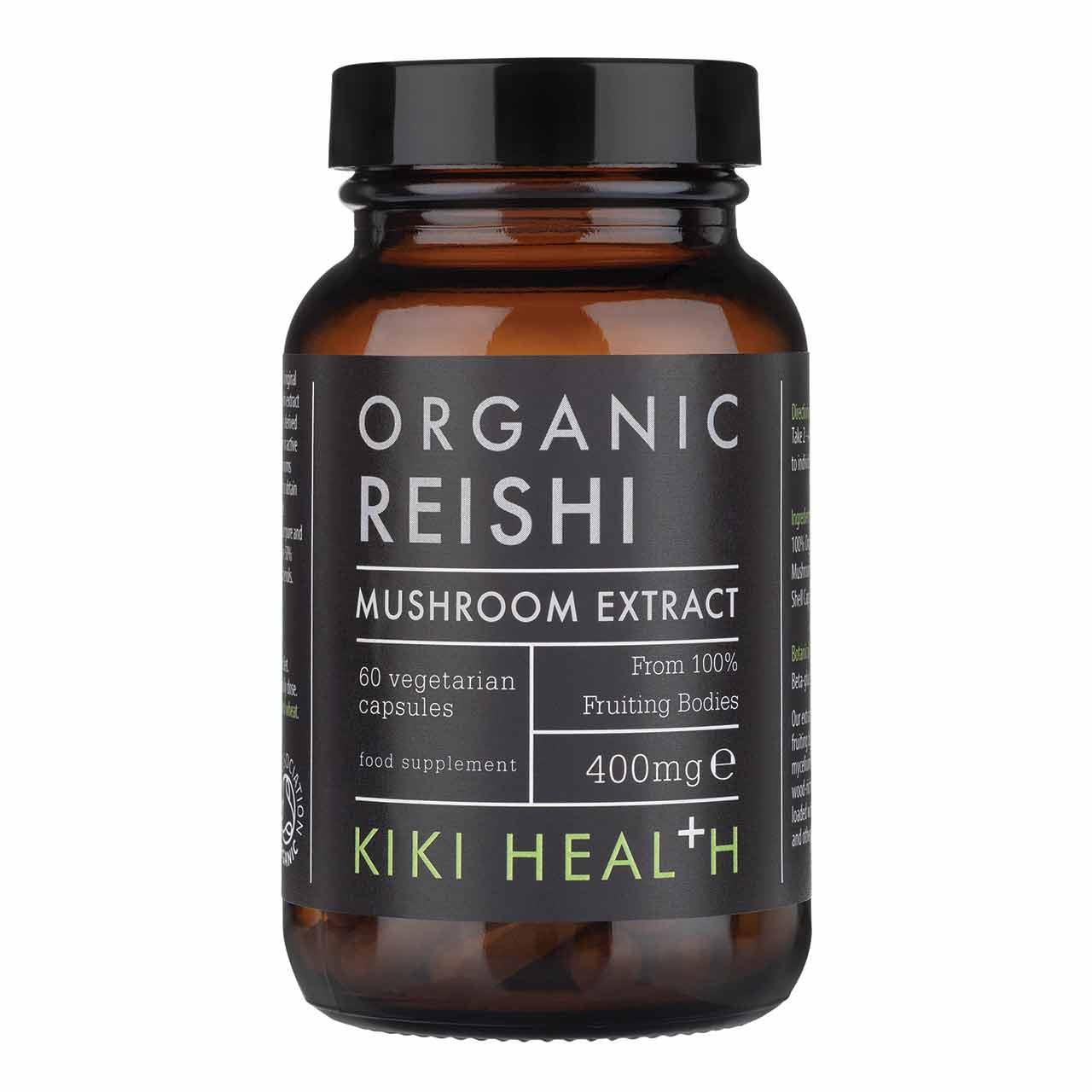 Organic Reishi Mushroom Extract 60's