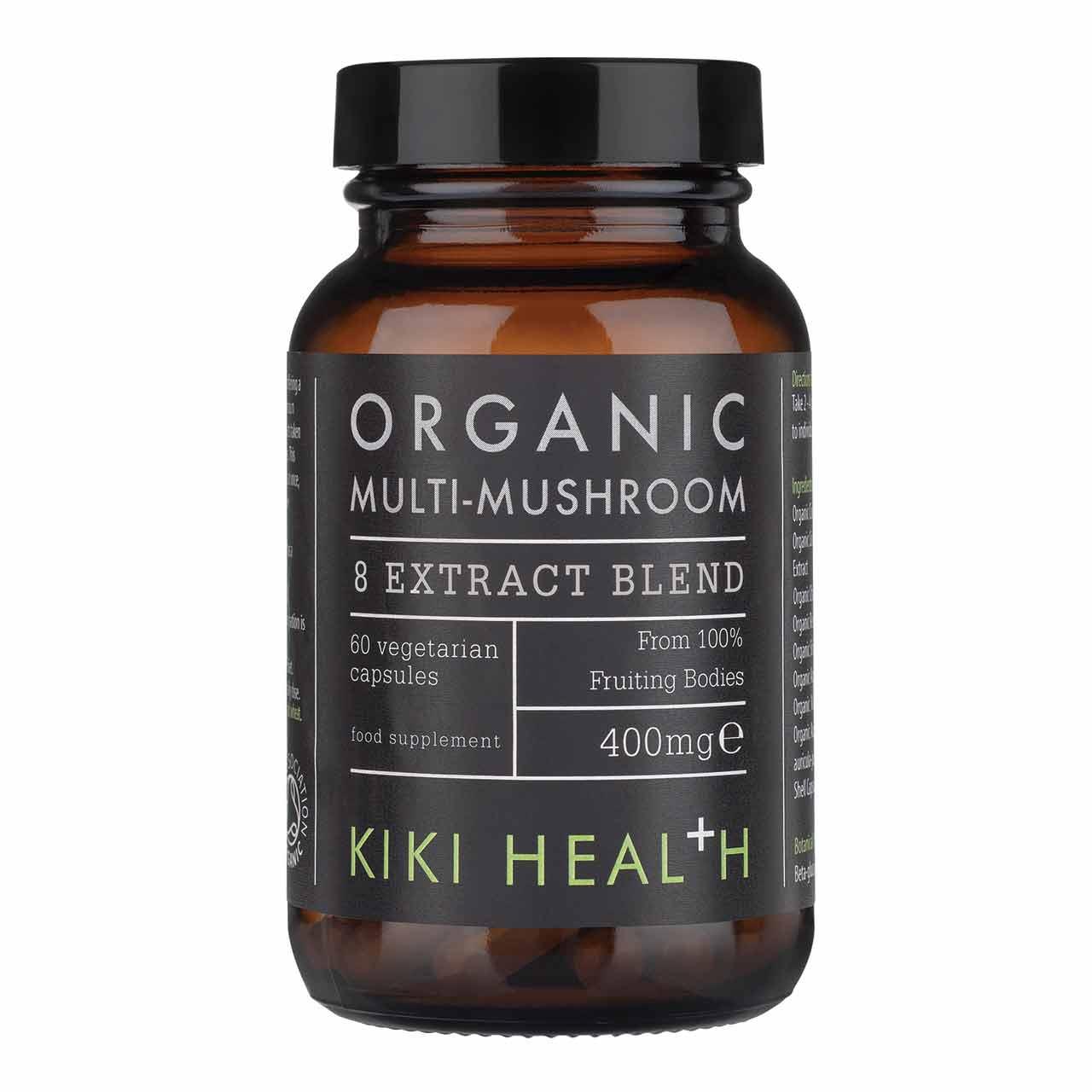 Organic Multi-Mushroom Blend 60's