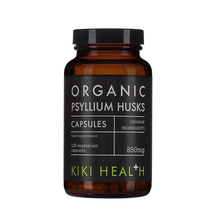 Organic Psyllium Husks 120's