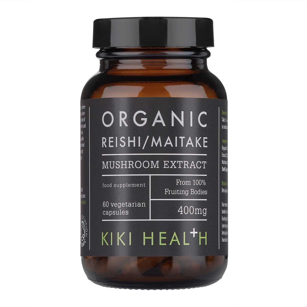 Organic Reishi/Maitake Mushroom Extract 60's
