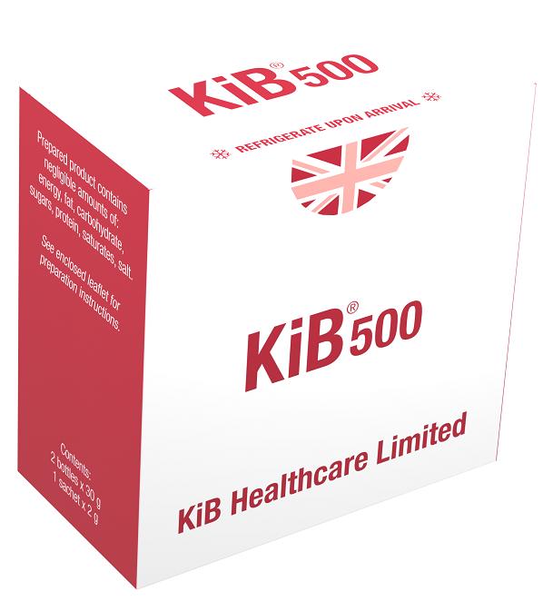 KiB®500 2 bottles + 1 sachet (New Formulation)