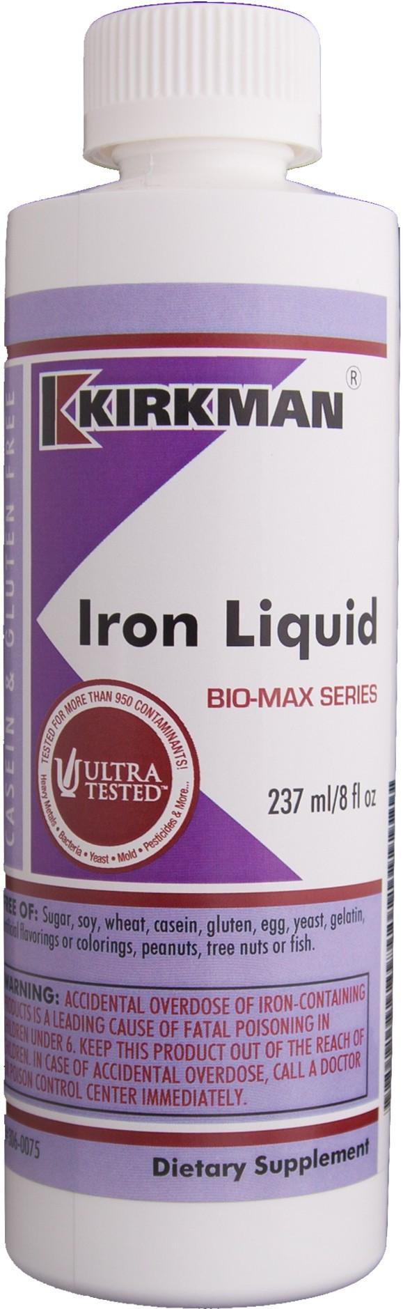 Iron Liquid Bio-Max Series 237ml