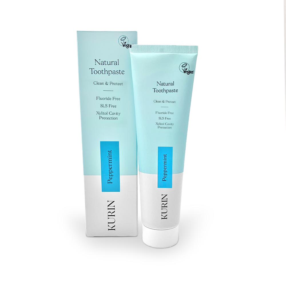 Natural Toothpaste Fluoride Free Peppermint 100ml