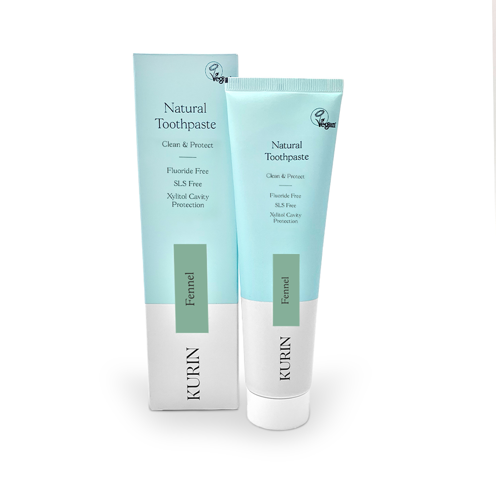 Natural Toothpaste Fluoride Free Fennel 100ml