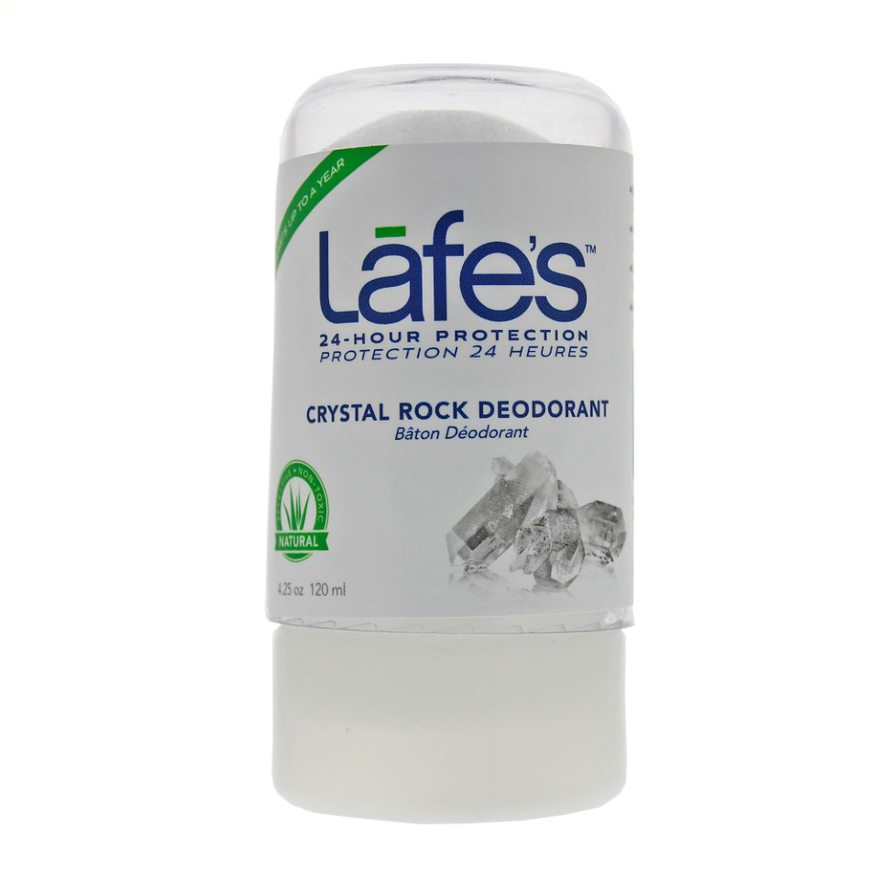 Lafe's Crystal Rock Deodorant 120g (Currently Unavailable)