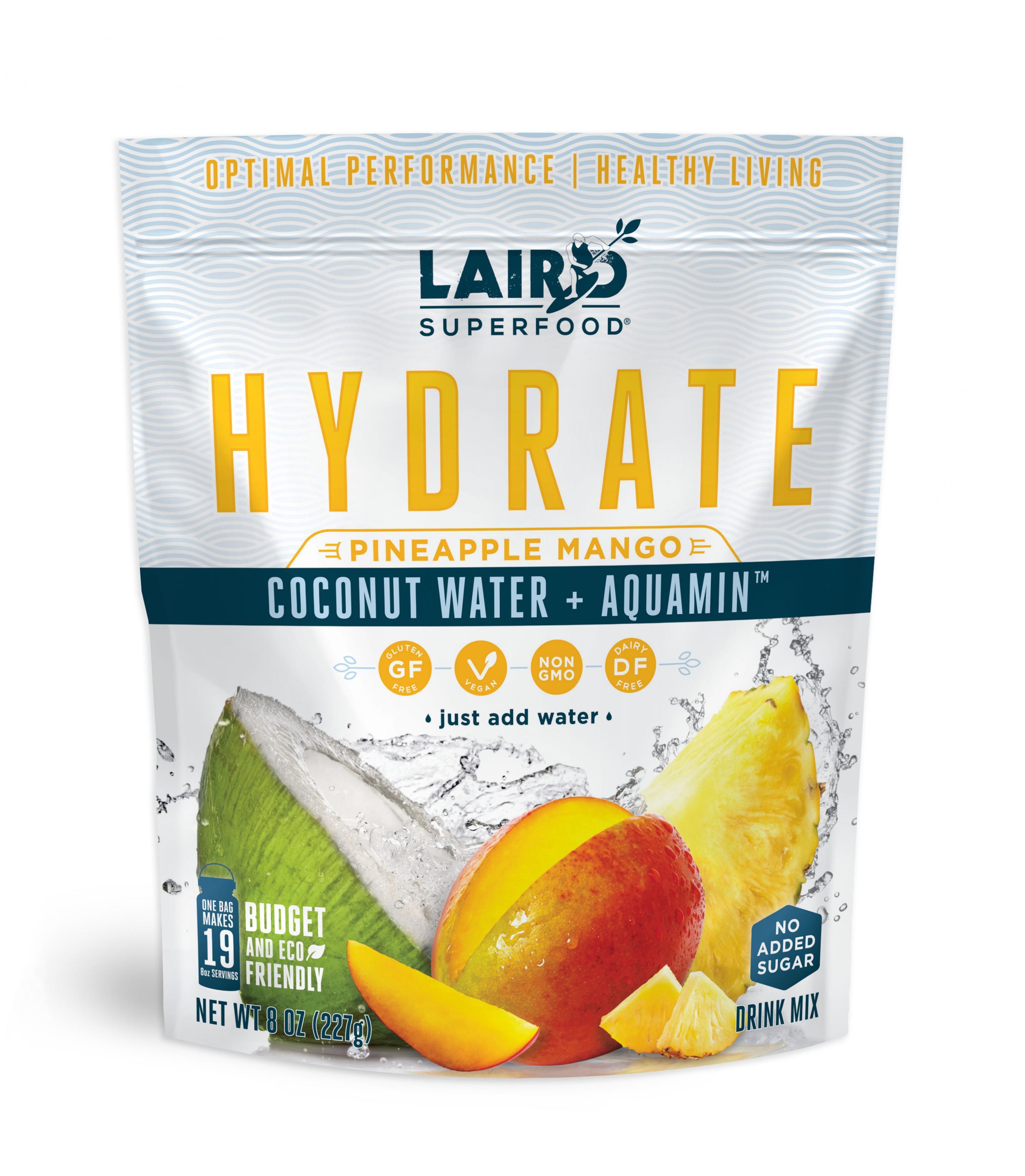 Pineapple Mango Hydrate Coconut Water 227g