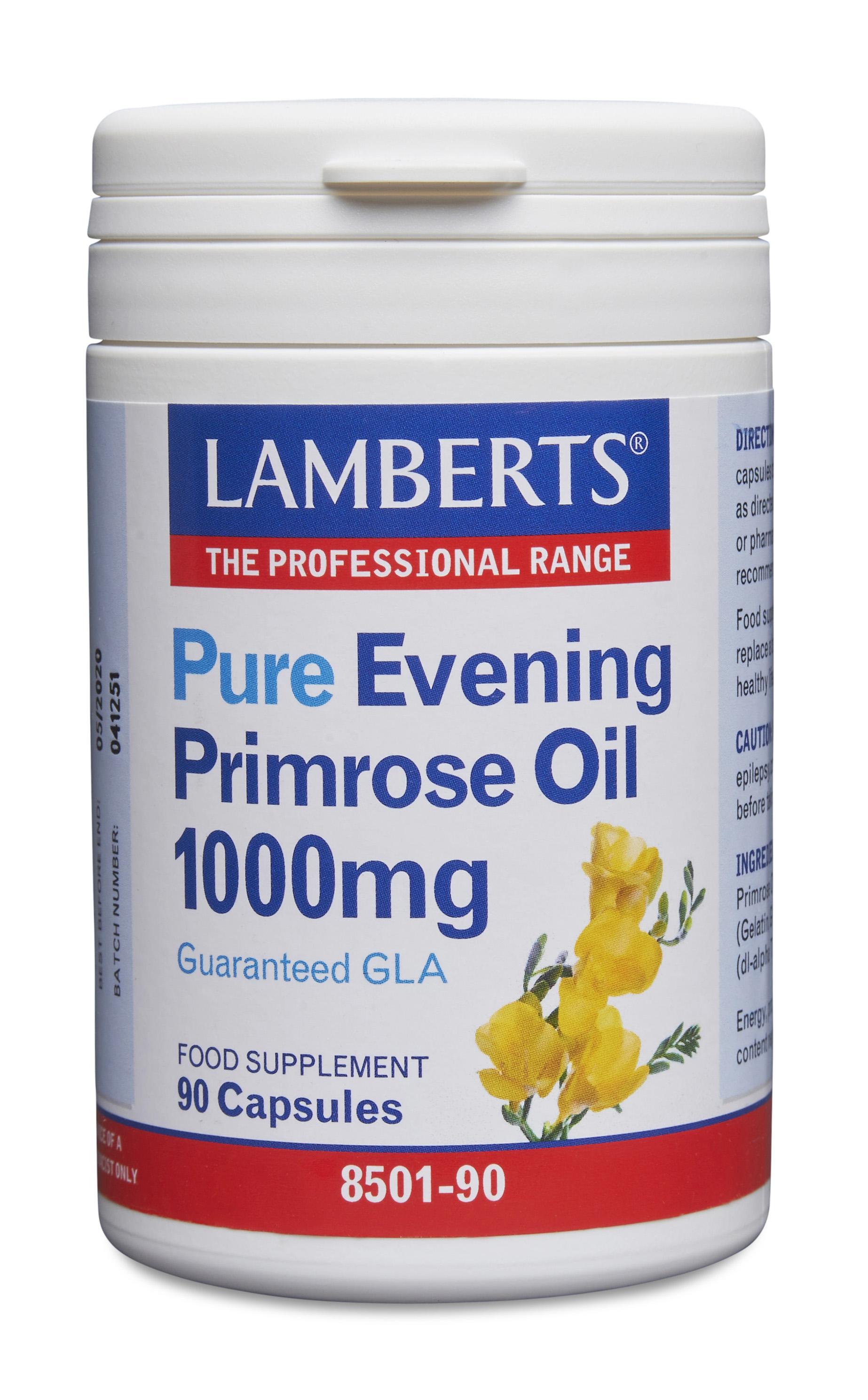 Pure Evening Primrose Oil 1000mg 90's