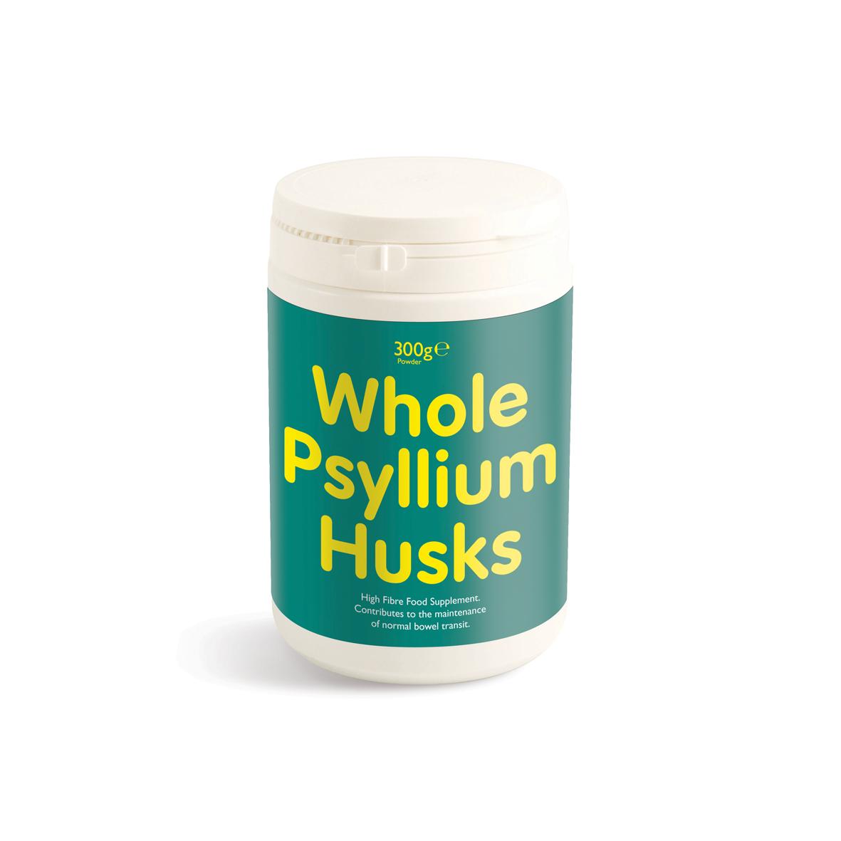 Whole Psyllium Husks 300g