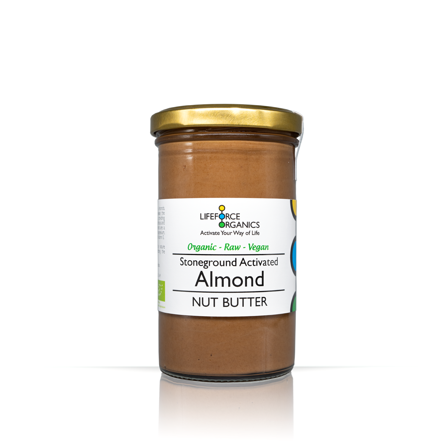 Activated Almond Nut Butter 250g