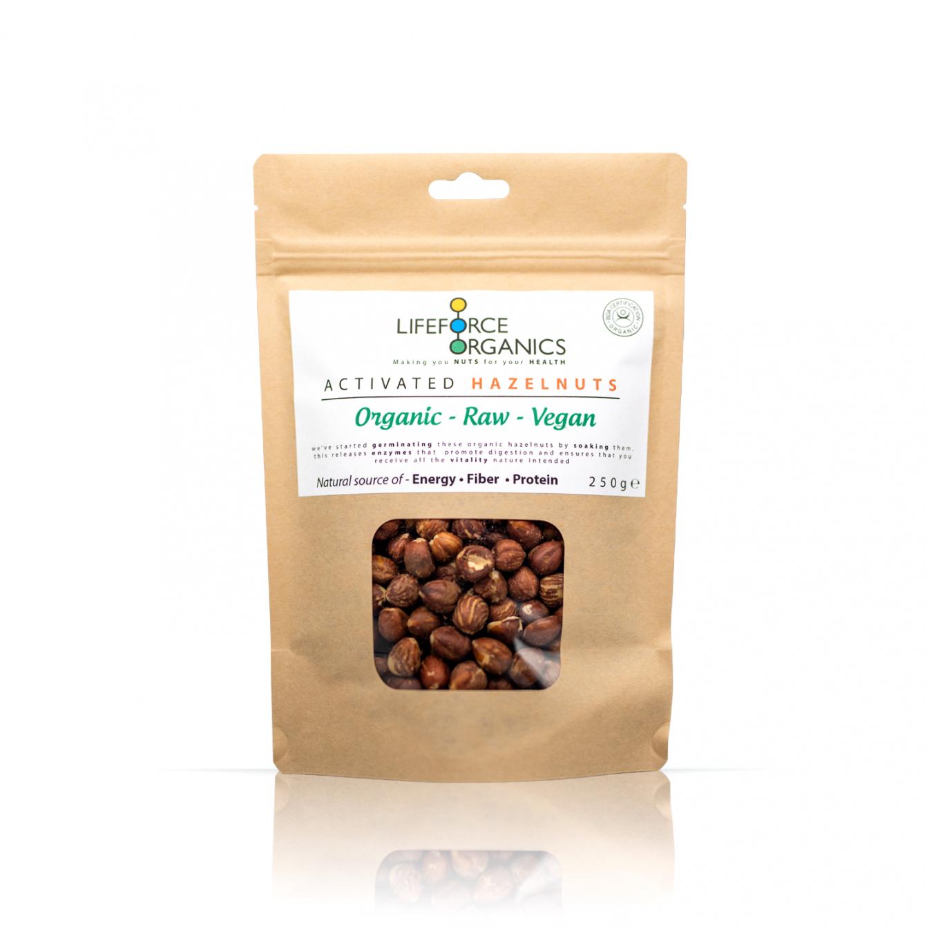Activated Hazelnuts (Organic) 250g