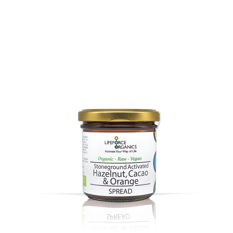 Activated Hazelnut, Cacoa & Orange Spread (Organic) 150g
