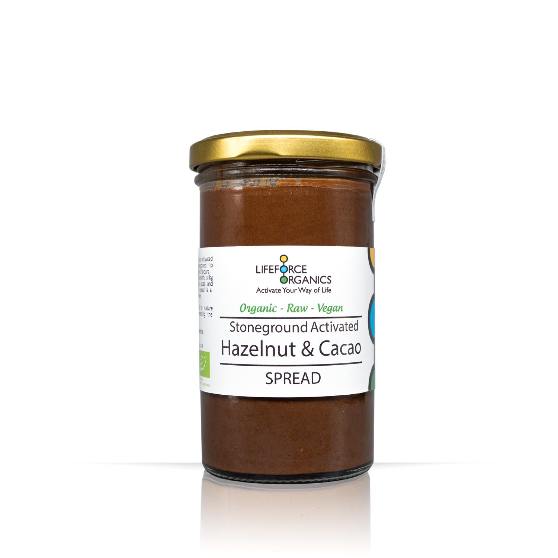 Activated Hazelnut & Cacao Spread (Organic) 250g