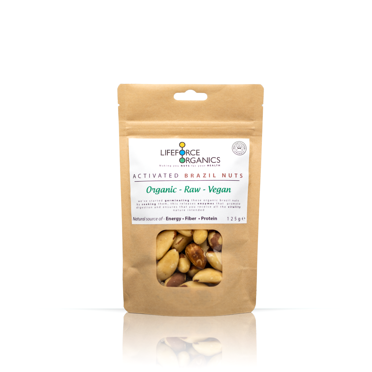 Activated Brazil Nuts (Organic) 125g